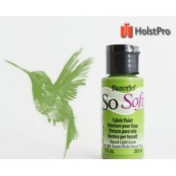 Краска для ткани, SoSoft, DecoArt (29мл), акриловая, Зеленая
