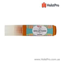 Краска для ткани, ROSA TALENT (20мл), акриловая, Оранжевая