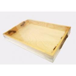Заготовки для декупажа, Поднос деревянный, 23х34х4см