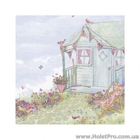 "Салфетки для декупажа, ""Летний дом в саду"""