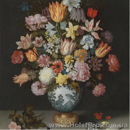 "Салфетки для декупажа, ""Bosschaert Floral"", 33*33 см, 18,5 г/м2, 20 шт, Abiente"