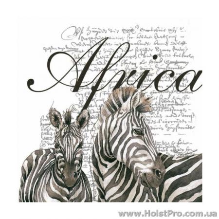 """Салфетки для декупажа, """"Africa"""", 33*33 см, 18,5 г/м2, 20 шт"""