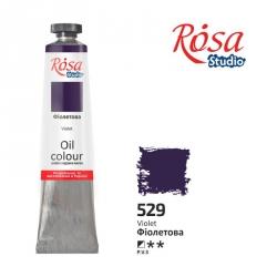 Краска масляная, Фиолетовая 60мл, ROSA Studio