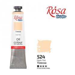Краска масляная, Телесная 60мл, ROSA Studio