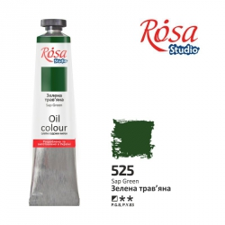 Краска масляная, Травяная 60мл, ROSA Studio