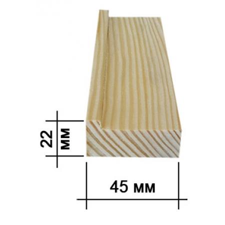 Подрамник для холста 22х45мм (big)