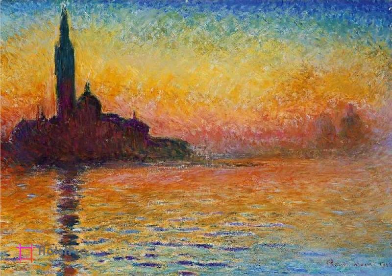 Клод Моне картина