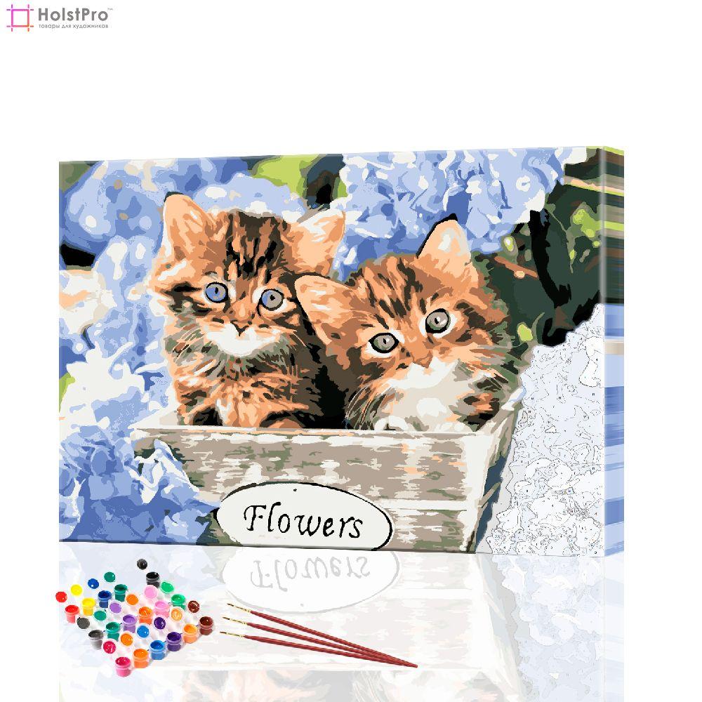 картины по номерам коты